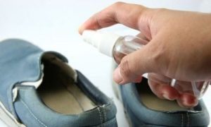 как продезинфицировать обувь от грибка