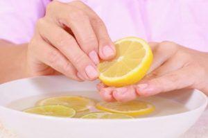 Лимон против грибка ногтей