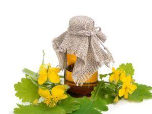 Масло чистотела от грибка ногтей