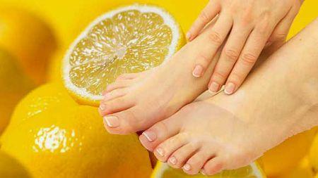 Лимон от грибка ногтей на ногах и руках